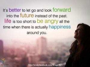 Inspirational and Motivational Quotes : Better to let Go and Look ...