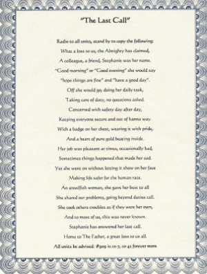 Funeral Poems
