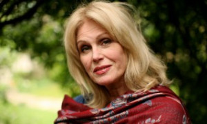 Interview with HBIC Joanna Lumley (Patsy, darling)