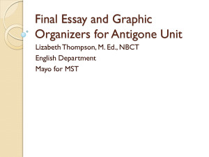 antigone essay on loyalty Get everything you need to know about citizenship vs family loyalty in antigone analysis, related quotes, theme tracking.