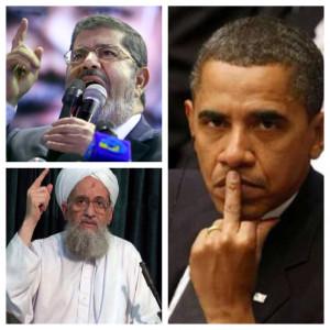 quotes wiretapped exchange between Obama-backed Morsi, 9/11 Al Qaida ...
