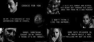 GIF] Quotes from Crowley, Azazel, Alastair, Meg, Lilith, and Ruby ♥