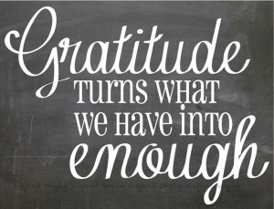 am very grateful for all I have been blessed with; family, friends ...