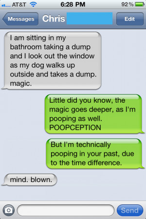 18 Funny Text Messages (9.29.11)