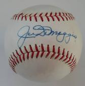 Joe Dimaggio Autographed Reach American League Joe Cronin Baseball ...