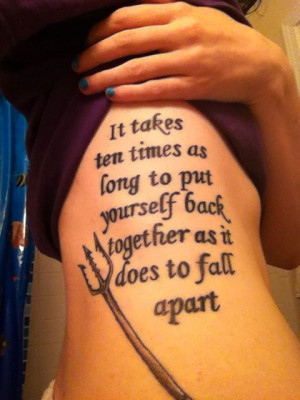 Finnick quote tattoo