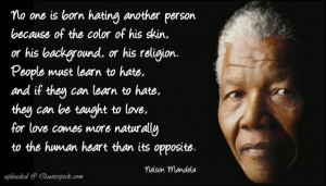 My two cents on Nelson Mandela's passing