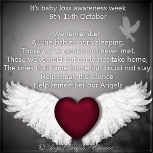And I will be remembering all of the babies lost of my loved ones as ...