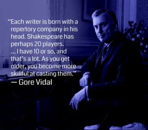 Gore Vidal writing quote