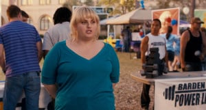 ... you might remember her from the trailer as fat amy although amy is