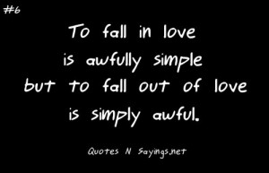 fall out of love quotes