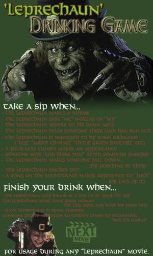 The 'Leprechaun' Drinking Game
