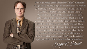 Dwight Schrute-isms