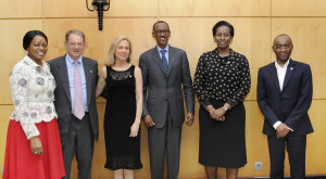 Paul Kagame Family