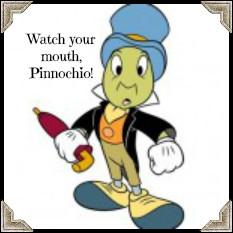 Jiminy Cricket Quotes Dreams Profanity like a loom,
