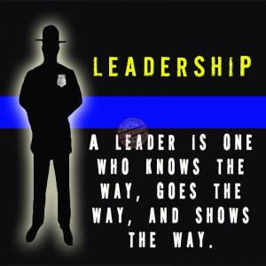 police leadership poster police officer memorial quotes police ...