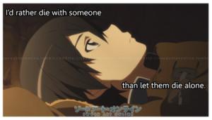 Notes Reblog Sword Art Online Quotes Kirito