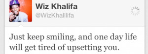 Click to get this keep smiling - wiz khalifa ghetto facebook cover