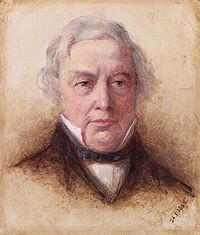 Thomas Love Peacock , ritratto da Henry Wallis