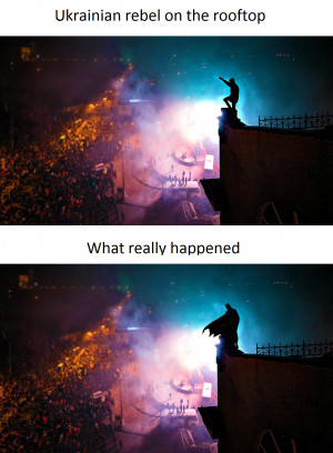 ... humor lol ukraine ukrainian riot police surround kiev protesters