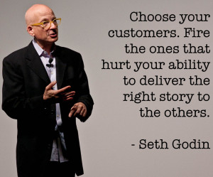 ... Seth Godin, Entrepreneur and Author of Purple Cow: Transform Your