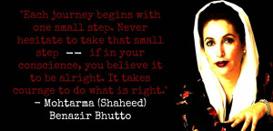 Mohtarma (Shaheed) Benazir Bhutto [11th Prime Minister of Pakistan ...