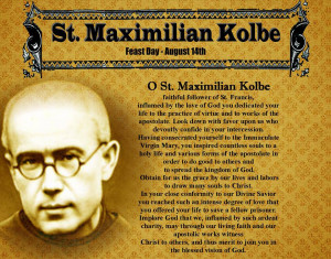 St. Maximilian Kolbe Quotes