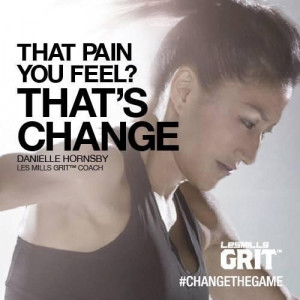 That pain you feel? That's change.