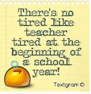 Teacher Tired and Back to School Freebies