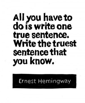 Continue reading these Ernest Hemingway Quotes About Writing