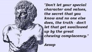 Aesop famous quotes 4
