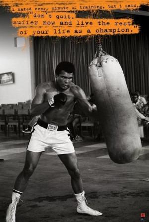 Muhammad Ali - punch bag pósters / láminas - Compra en EuroPosters