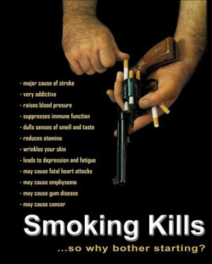 ... views 4773 post subject quit smoking or else quit smoking or else