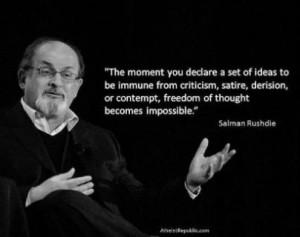 Salman Rushdie wisdom