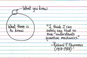 physics quotes feynman