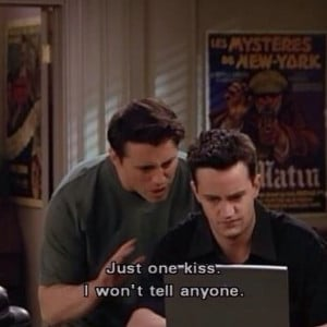 Friends Joey Quotes Like chandler and joey