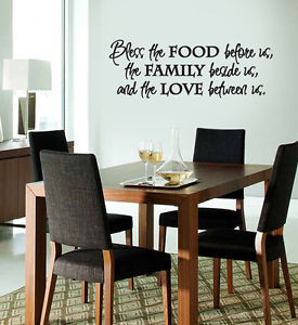 Dining Room Wall Decals Of Dining Room Wall Art Stickers