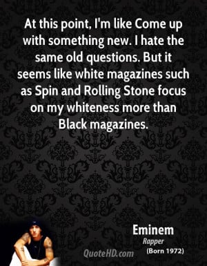 Eminem Quotes About Haters