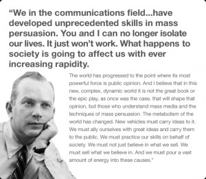 During the last years of his life, Bernbach struggled with leukemia ...