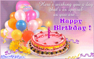 ... to post a birthday wishes early so happy birthday jasmine enjoy