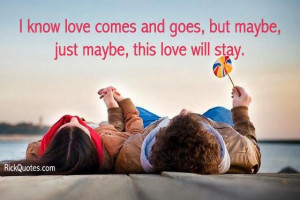 Love Quotes | This Love Will Stay