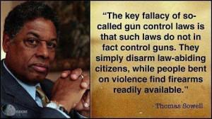 Gun control- Thomas sowell