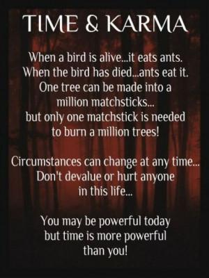 When a bird is alive…. it eats ants.