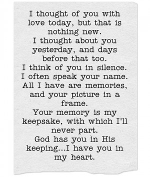 thought of you today quotes