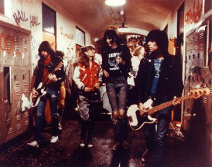 Soles with The Ramones in