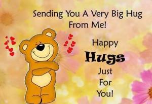 Bear Hug Cute Card