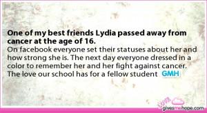 My Best Friend Passed Away