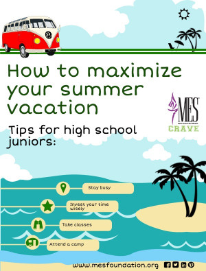 Summer vacation tips for high school juniors who are thinking about ...