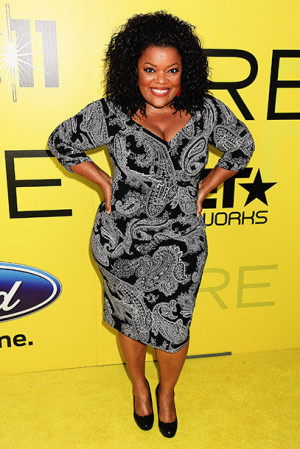 Yvette Nicole Brown, Community (7 years old in the previous photo)