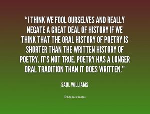 Saul Williams Quotes